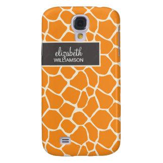 Orange Giraffe Pern