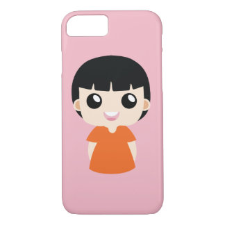 Orange girl iPhone 8/7 case