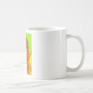 Orange Girl portrait concept Coffee Mug