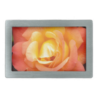 Orange Glory Rectangular Belt Buckle