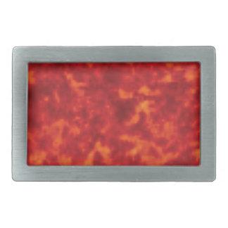 orange glow of lava belt buckle