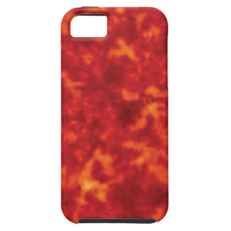 orange glow of lava iPhone 5 case