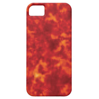 orange glow of lava iPhone 5 cover
