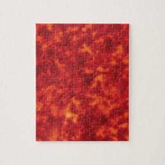 orange glow of lava jigsaw puzzle
