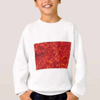 orange glow of lava sweatshirt
