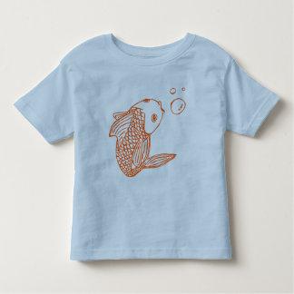 Orange Goldfish Toddler T-shirt