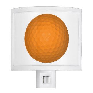 Orange Golfball Nite Light