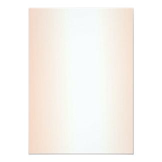 Orange Gradient Blank Wedding Fan Program Paper Invitations