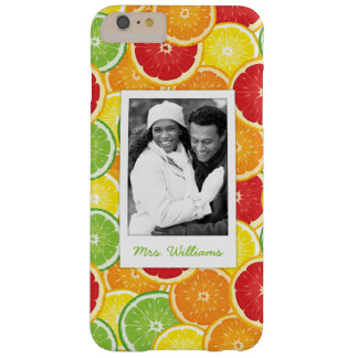 Orange, Grapefruit, Lime & Lemon | Add Your Photo Barely There iPhone 6 Plus Case