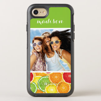 Orange, Grapefruit, Lime & Lemon | Add Your Photo OtterBox Symmetry iPhone 8/7 Case