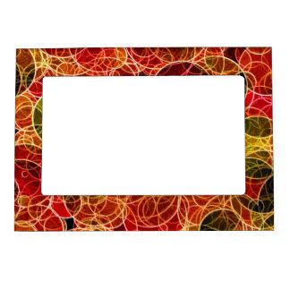 Orange_Green_Red Pattern  Magnetic Frame