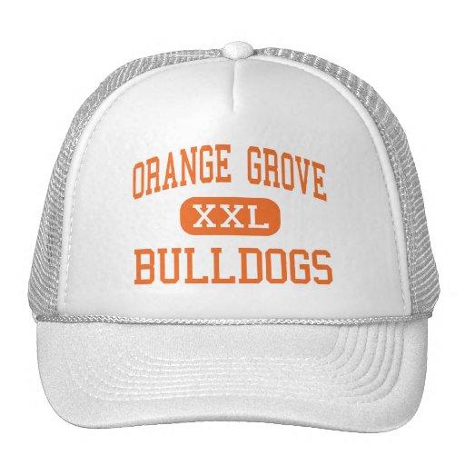 Orange Grove - Bulldogs - Junior - Orange Grove Mesh Hat