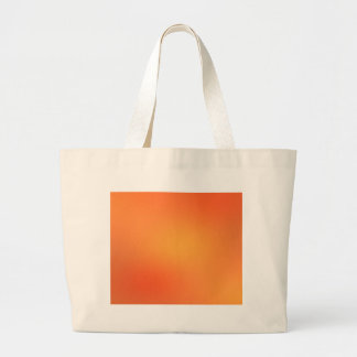 ORANGE GRUNGE LARGE TOTE BAG