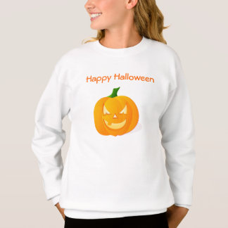 Orange Halloween Pumpkin Sweatshirt