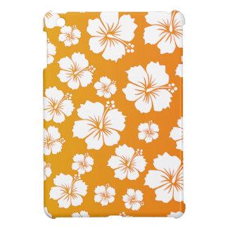 Orange Hawaii Flower Design Cover For The iPad Mini