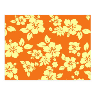 Orange Hawaiian Postcard