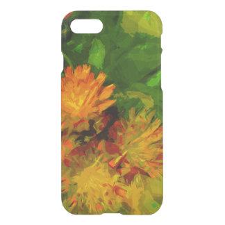 Orange Hawkweed Wildflower Abstract Impressionism iPhone 8/7 Case