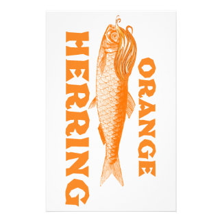 Orange Herring Stationery