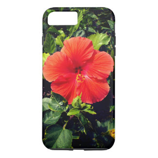 Orange Hibiscus iPhone 8 Plus/7 Plus Case