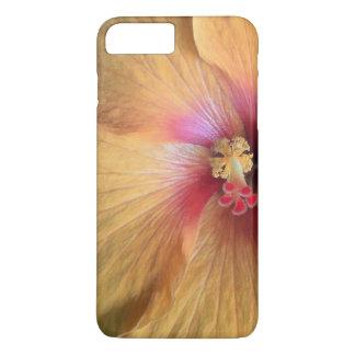 Orange Hibiscus Ruffle iPhone 7 Plus Case