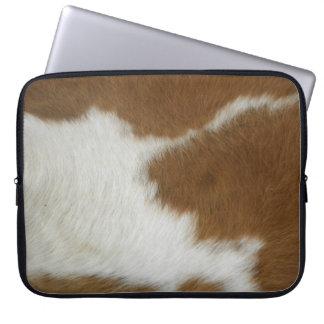 Orange Hide Laptop Sleeve