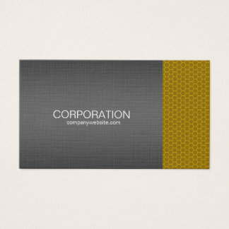 Orange honey comb elite business card