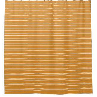 Orange Horizontal Stripe Design