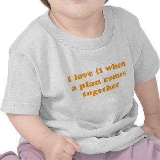 Orange I Love It T-shirts