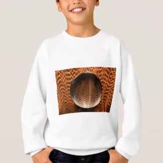 Orange in the crystal globe. sweatshirt