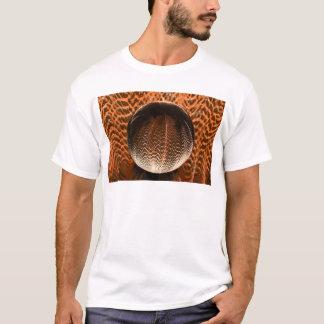 Orange in the crystal globe. T-Shirt