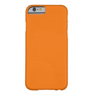 Orange iPhone 6 case Custom ID
