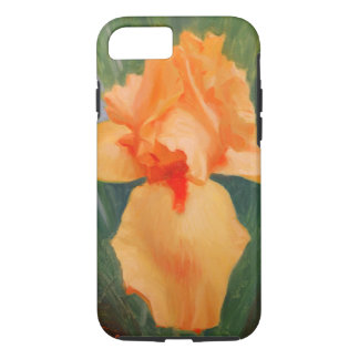 Orange Iris Smart Phone Cover