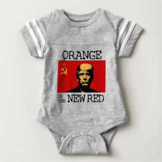 Orange Is The New Red Baby Bodysuit