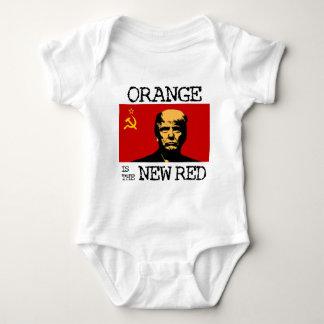Orange Is The New Red Baby Bodysuit