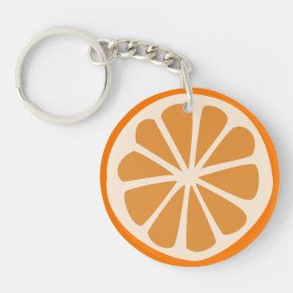 Orange J Keychain