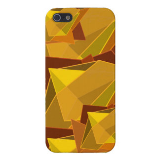 Orange Jagged Phone Case iPhone 5 Cover