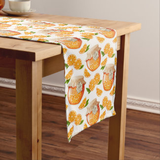 Orange Jam Long Table Runner