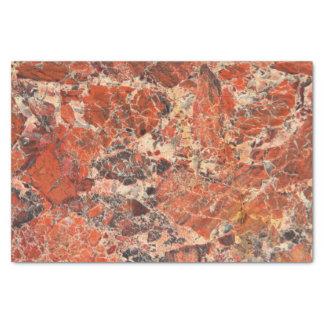 Orange Jasper Pattern Tissue Paper