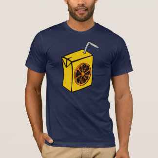 Orange Juice Box Mens T-Shirt