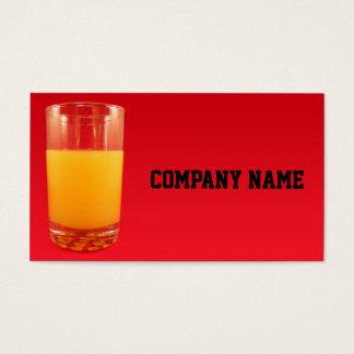 Orange Juice Business Card