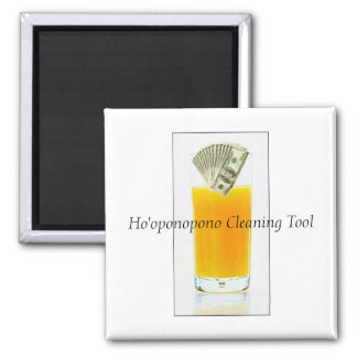 Orange Juice Ho'oponopono Cleaning Tool Magnet