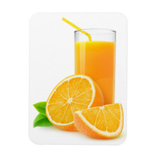 Orange juice magnet