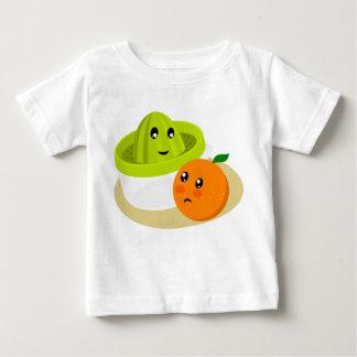Orange Juice (Orange and Squeezer) Baby T-Shirt
