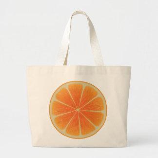 Orange Jumbo Tote
