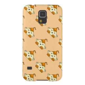 Orange Kawaii Tickle Monster Galaxy S5 Cases
