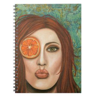 orange kiss note books