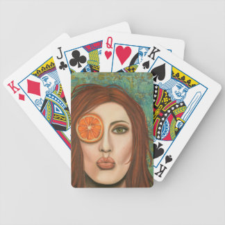 orange kiss poker deck