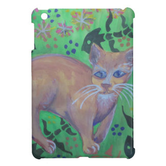 orange kitten i-pad mini case cover for the iPad mini