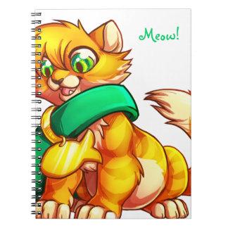 Orange Kitten Notebook