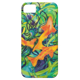 Orange Koi iPhone 5 Case